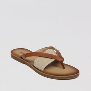 Lucky Brand Brown Baxx Sandal